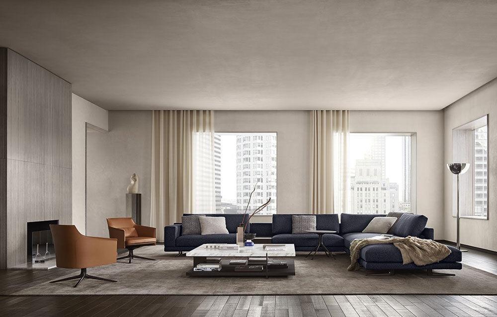 Poliform Ecksofas Sofakombination Mondrian | Designbest