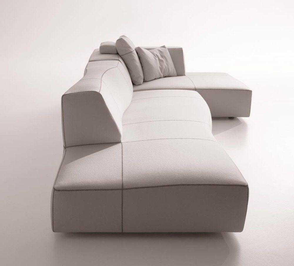 Composizione bend sofa da b b italia designbest for B b divani italia