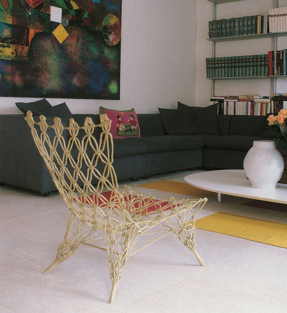 Poltroncina Knotted Chair