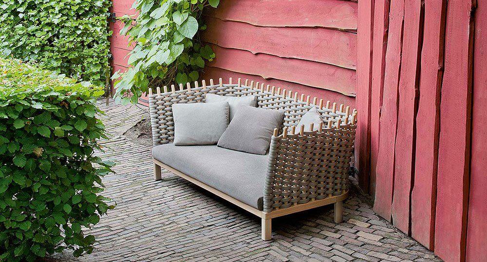 Paola Lenti Gartensofas Sofa Wabi | Designbest