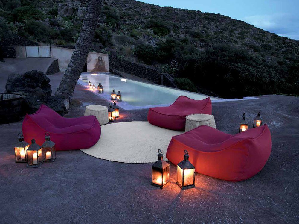 Outdoor Sofas: Armchair Float by Paola Lenti