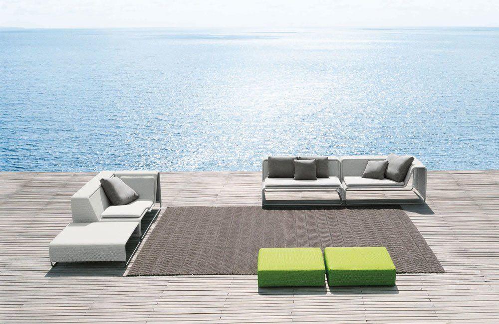 Paola Lenti Gartensofas Sofa Island | Designbest