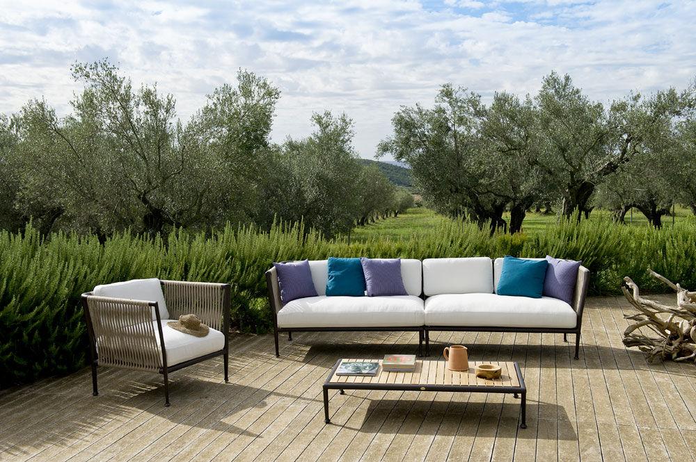 Unopiù Gartensofas Sofa Treble | Designbest