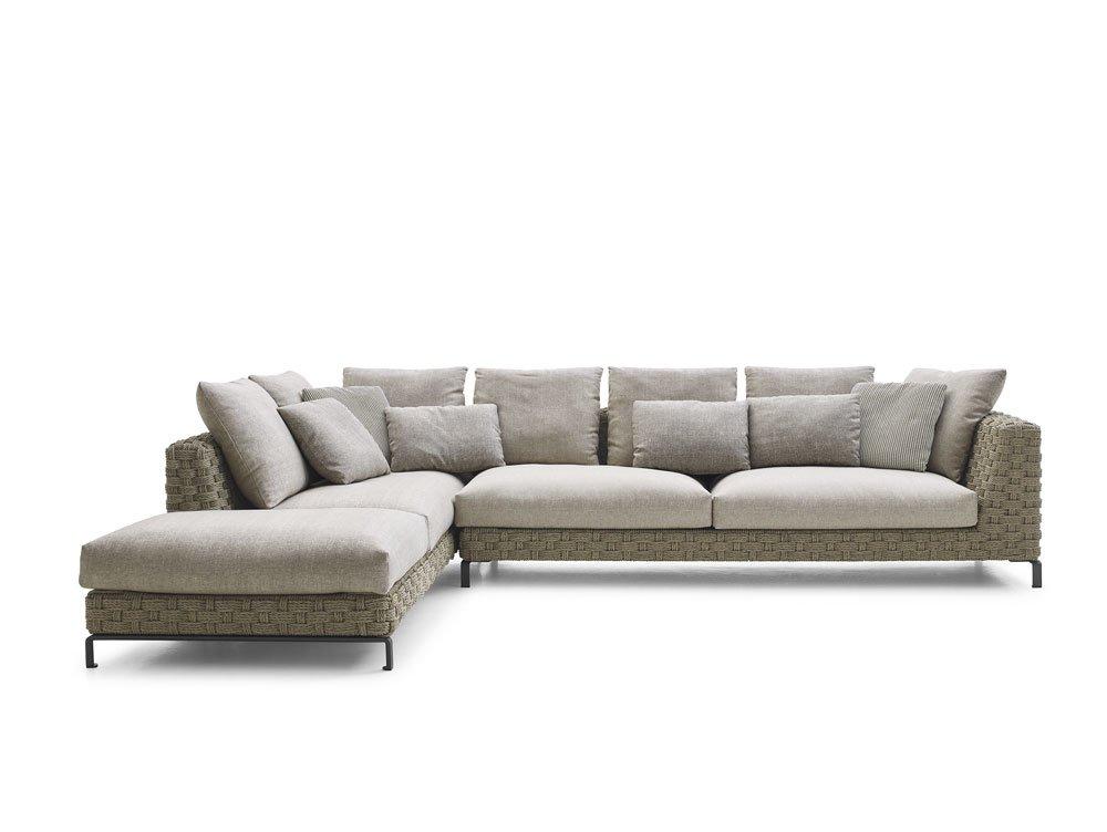 B b italia gartensofas sofa ray outdoor natural designbest for Divan 2 heilbronn