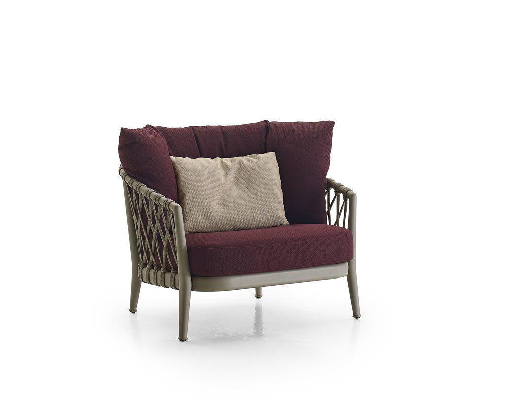Outdoor Sofas: Armchair Erica by B&B Italia