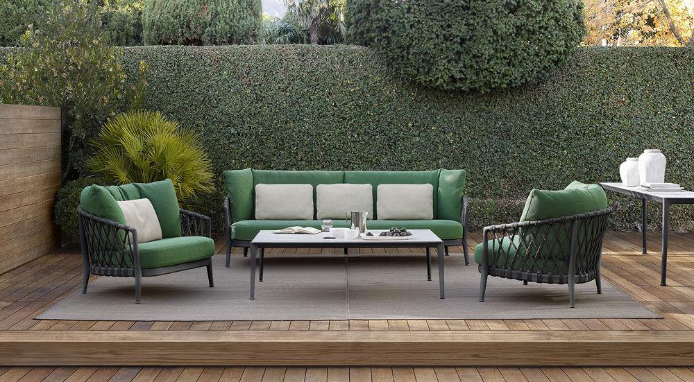 Divano Letto Bb Italia.Outdoor Sofas Armchair Erica By B B Italia