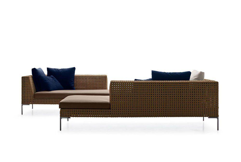 Bb Italia Gartensofas Sofa Charles Outdoor Designbest