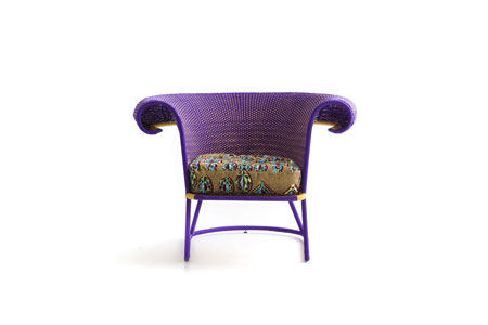 Armchair Seku by Moroso