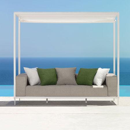 Sofa Canopy Cleo Alu