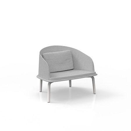 Armchair Lounge Cleo Alu