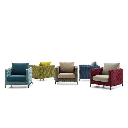 Armchair Ray Outdoor Fabric