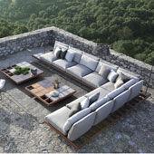 Composizione Mozaix Lounge