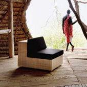 Petit fauteuil Lounge