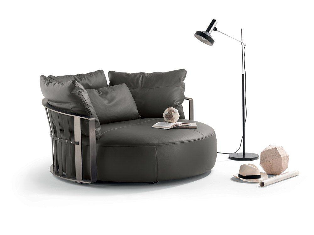 Frau Divani.Two Seater Sofas Sofa Scarlett By Poltrona Frau