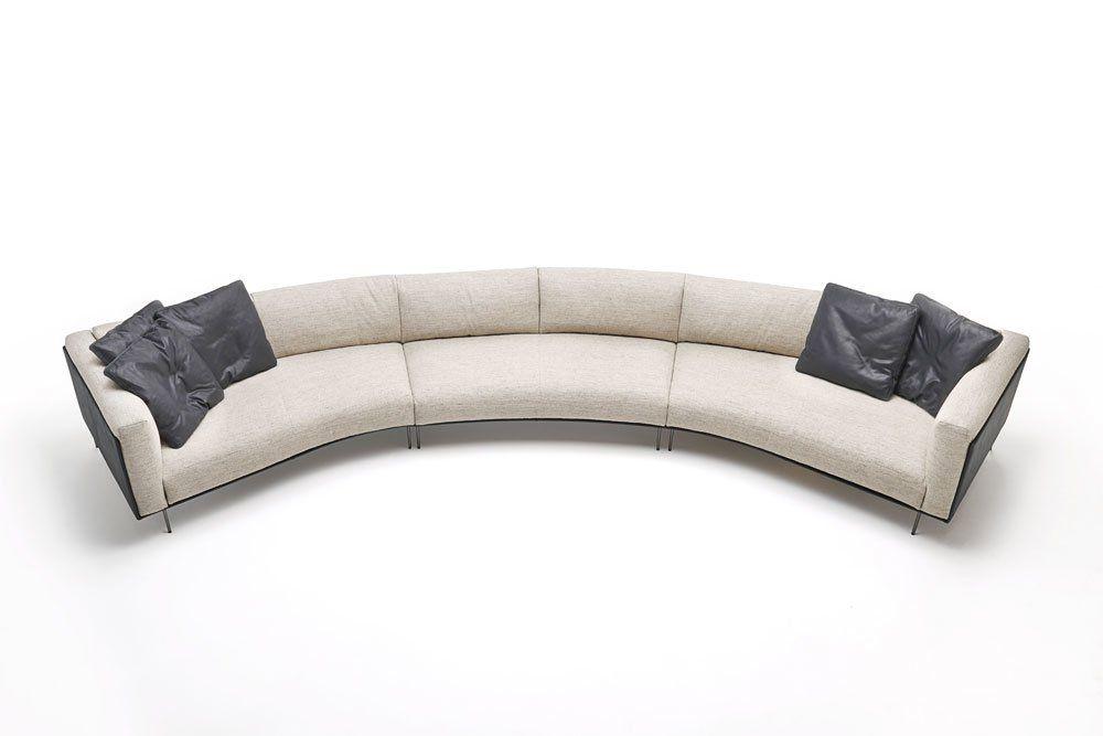 Four + Seater Sofas: Divano Rod Bean by Living Divani