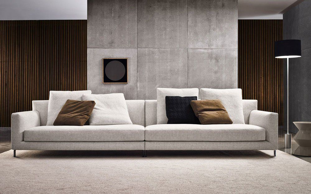 four seater sofas sofa allen by minotti. Black Bedroom Furniture Sets. Home Design Ideas