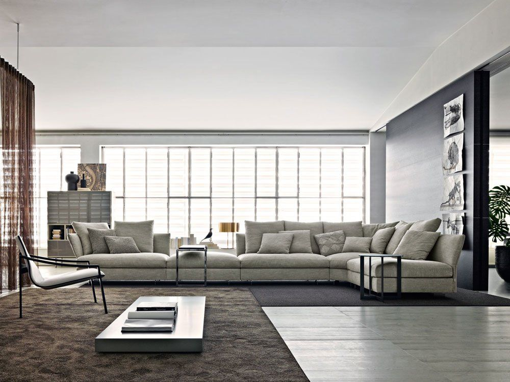 Four Seater Sofas Sofa Holiday By MolteniampC