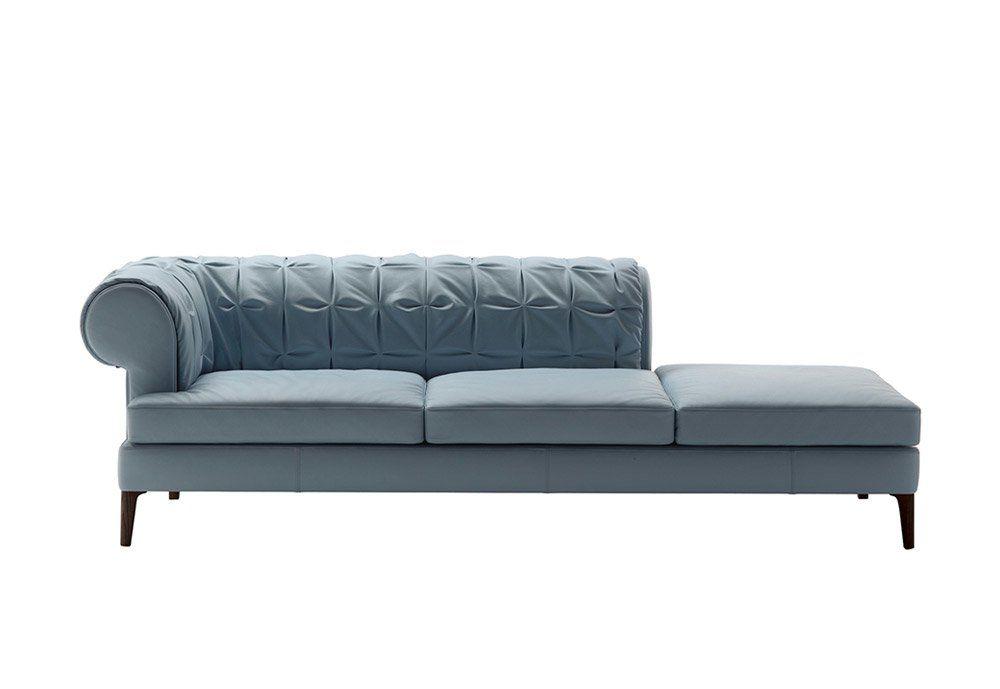 Three-Seater Sofas: Sofa Mantò by Poltrona Frau