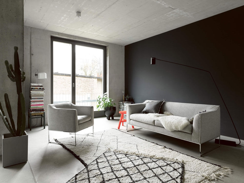 cor drei sitzer sofas sofa mell designbest. Black Bedroom Furniture Sets. Home Design Ideas