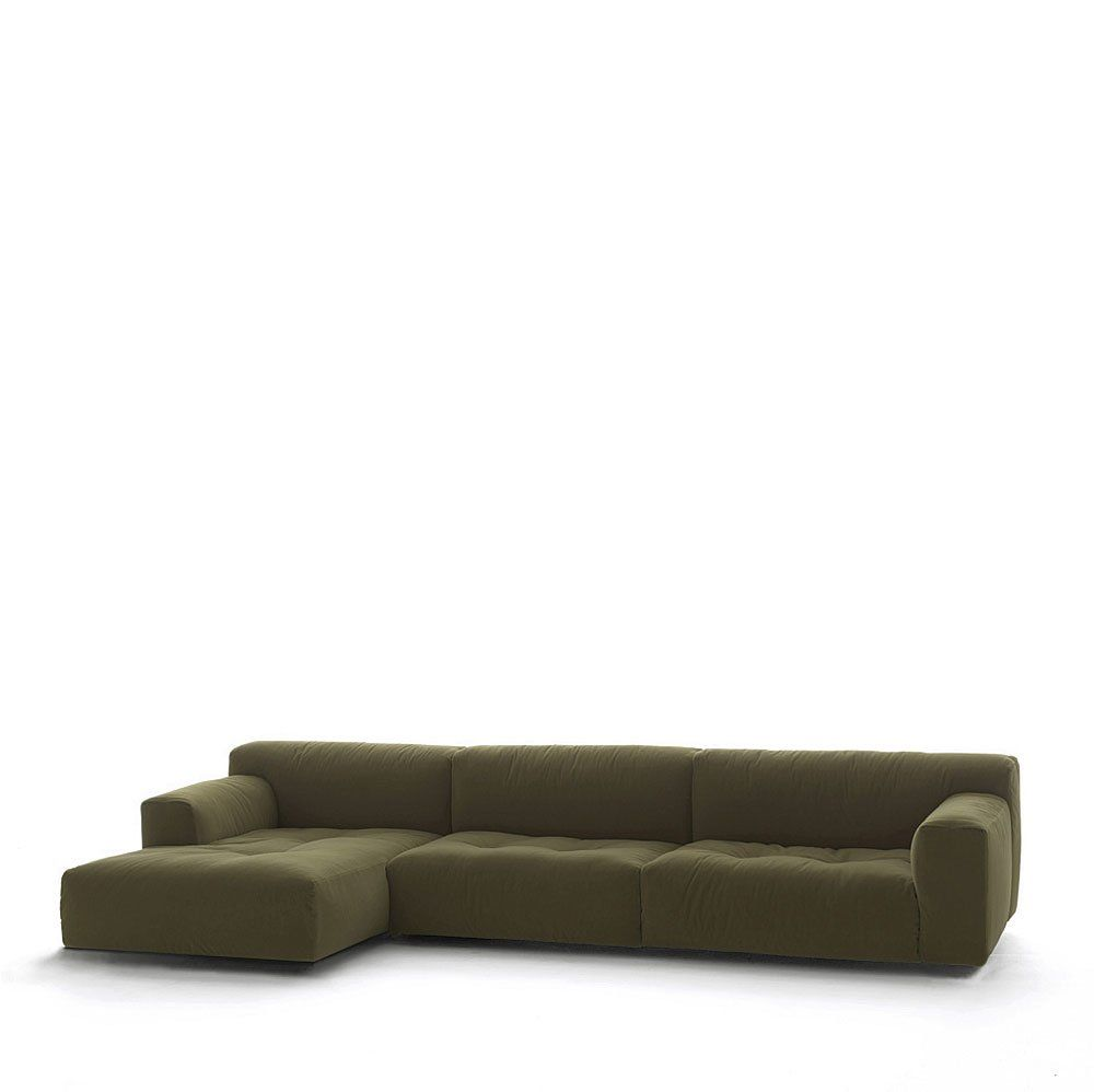 Three Seater Sofas Divano Softwall By Living Divani # Muebles Riflessi