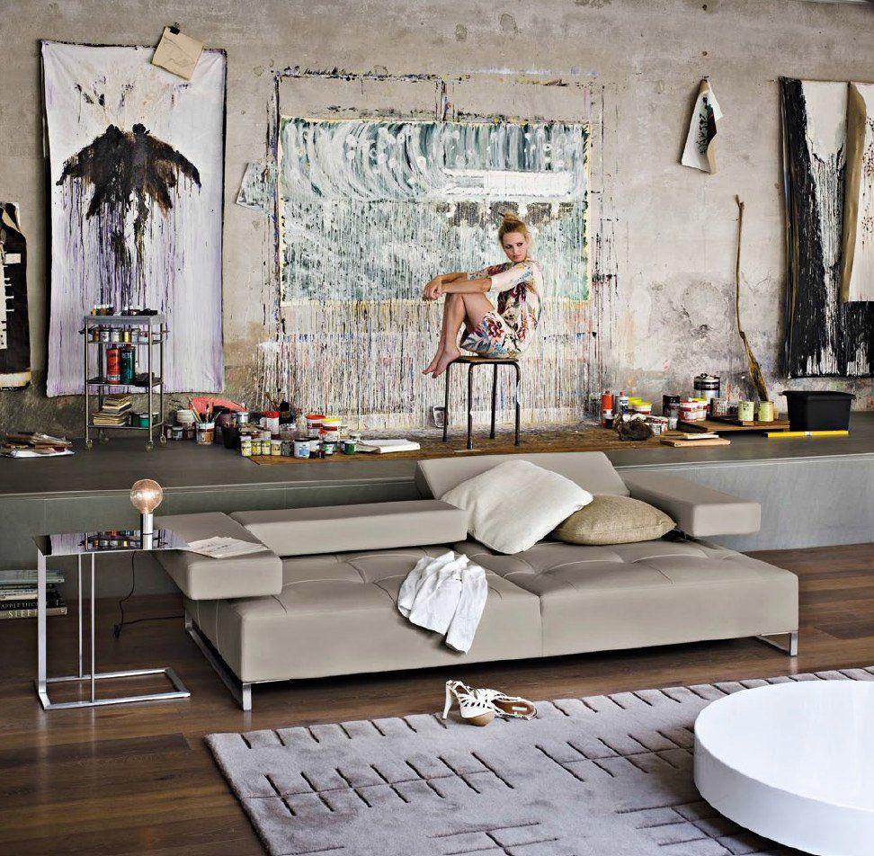 Arketipo Drei Sitzer Sofas Sofa Loft Designbest