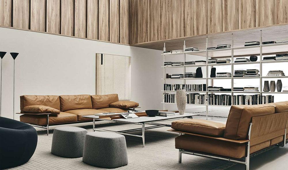 B&B Italia Drei-Sitzer Sofas Sofa Diesis | Designbest