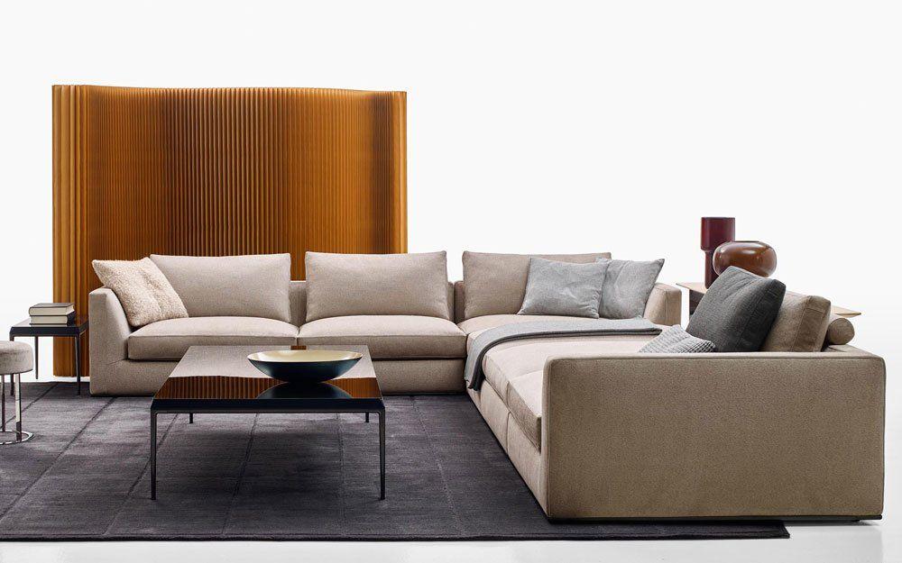 Three Seater Sofas Sofa Richard By B B Italia