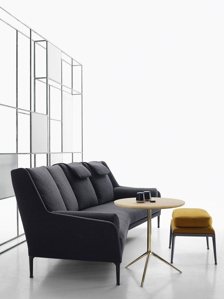 Three-Seater Sofas: Sofa Édouard by B&B Italia