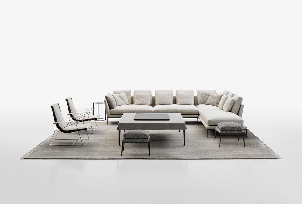 Divano Letto Bb Italia.Three Seater Sofas Sofa B B Atoll By B B Italia