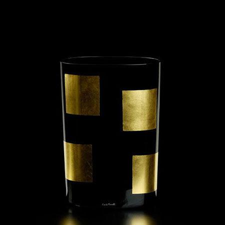 Vaso Mosaico Oro