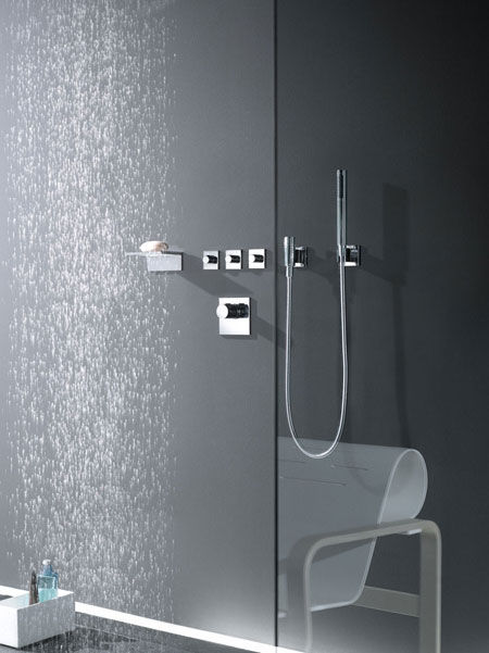 Shower fittings Symetrics