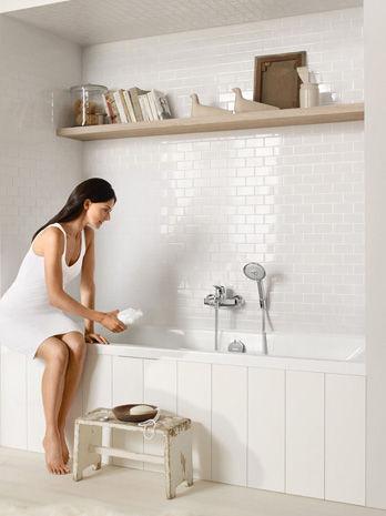 Bath Diverter Mixer Metris Classic