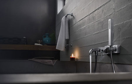 Bathtub fittings Cube