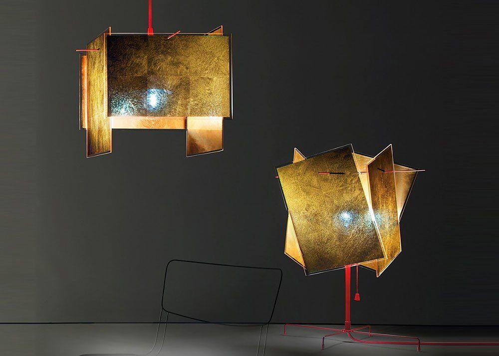 Ingo Maurer Hängeleuchten Lampe 24 Karat Blau | Designbest