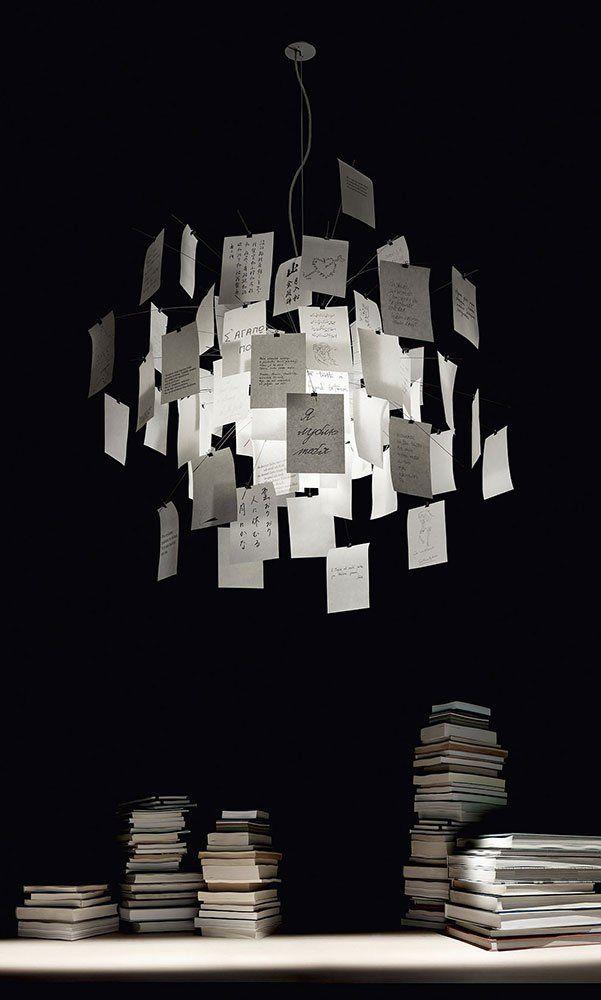 Ingo Maurer Hängeleuchten Lampe Zettel\'Z 5 | Designbest