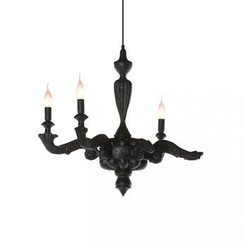 Lamp Smoke Chandelier