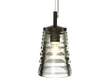 Luminaire Pressed Glass Tube