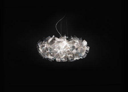Luminaire Clizia Fumé