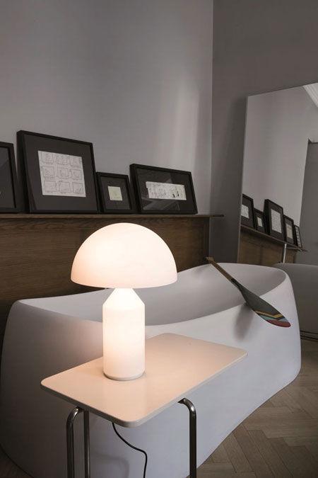 Lampada Atollo vetro 233