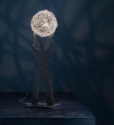 Lampada Uomo della Luce
