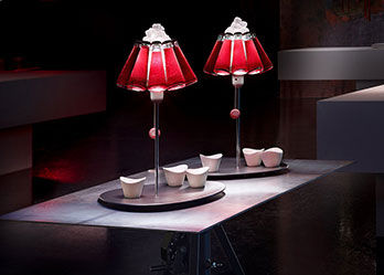 Lampe Campari bar