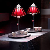 Lampa Campari bar