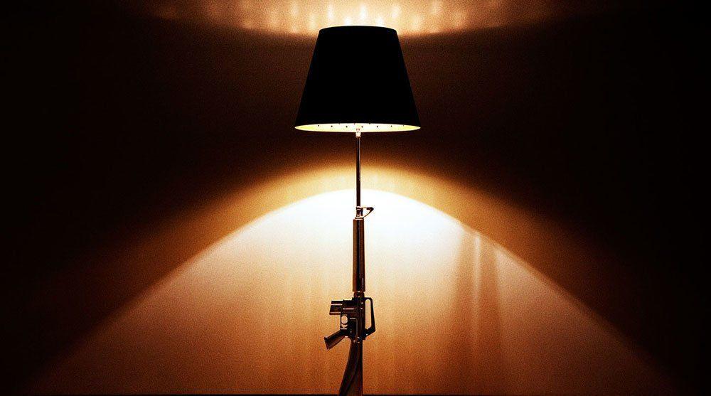 Lampada Lounge Gun