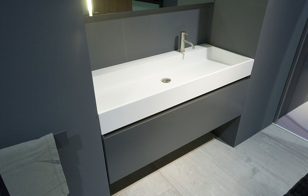 Washbasin: Lavabo Gesto by Antonio Lupi