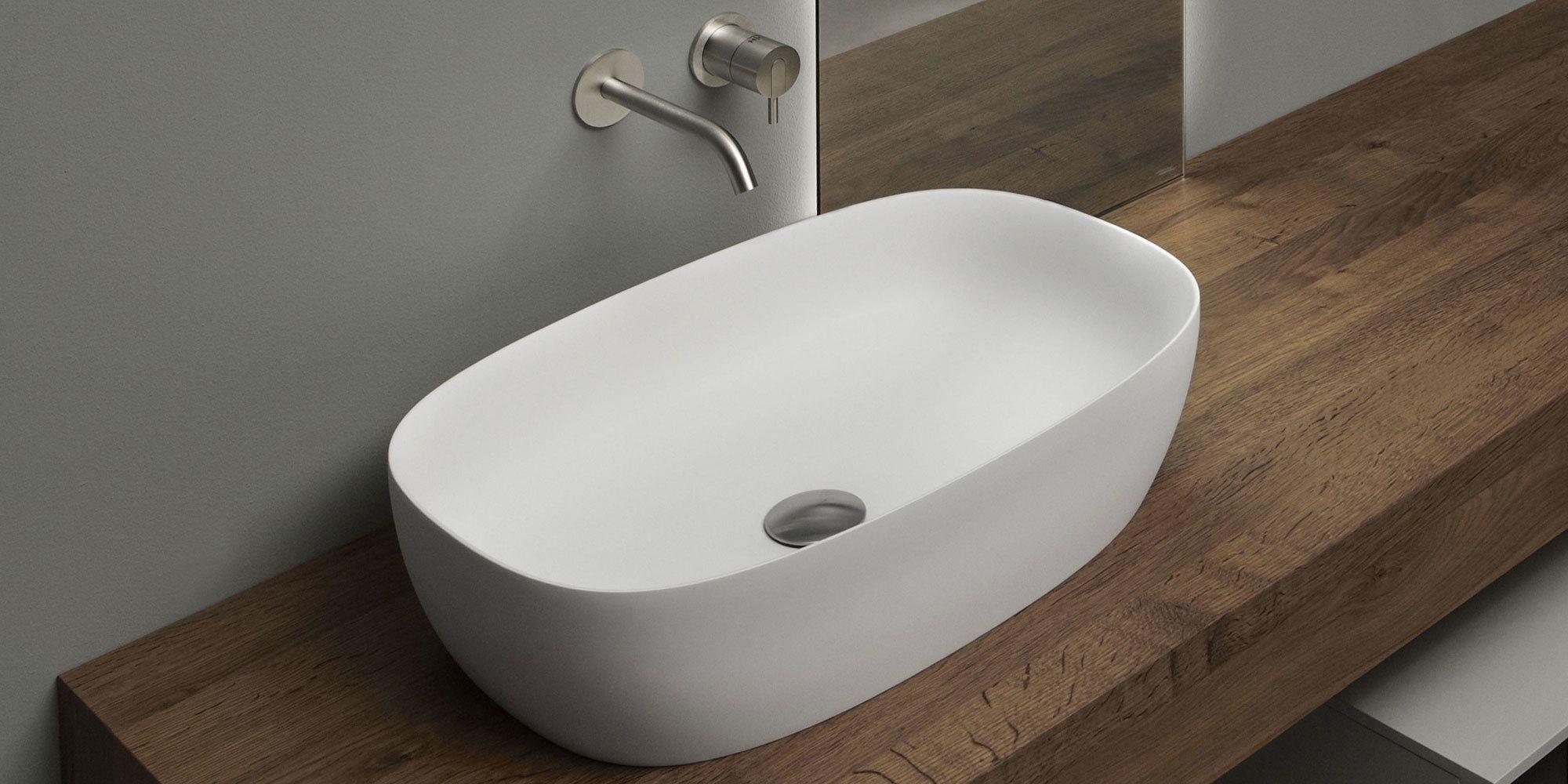 antonio lupi waschbecken waschtisch senso designbest. Black Bedroom Furniture Sets. Home Design Ideas