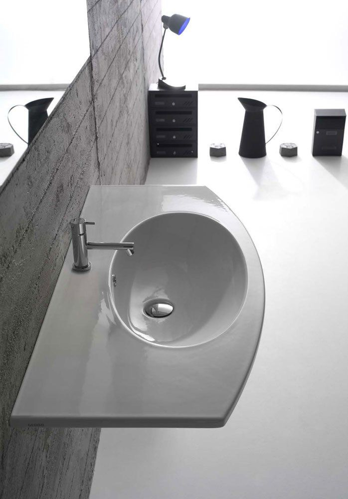 Piano Lavabo Ceramica Globo.Washbasin 4all