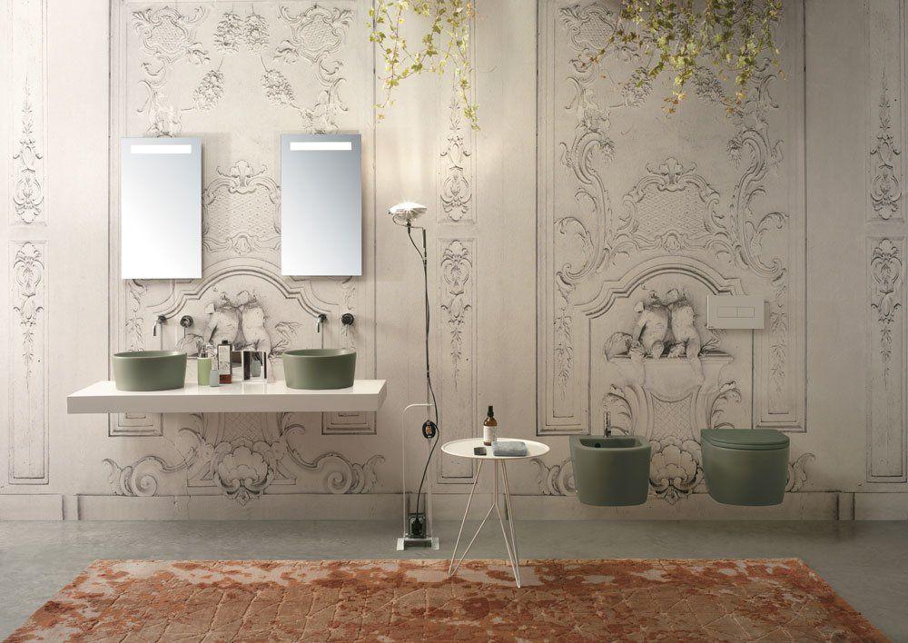 Vasca Da Bagno Globo : Ceramica globo waschbecken waschtisch forty3 designbest