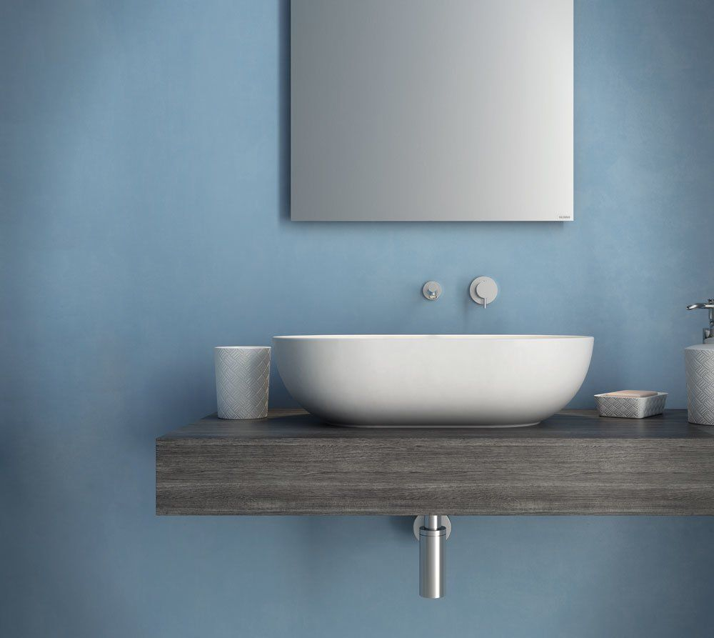Washbasin: Wasbasin T-Edge by Ceramica Globo