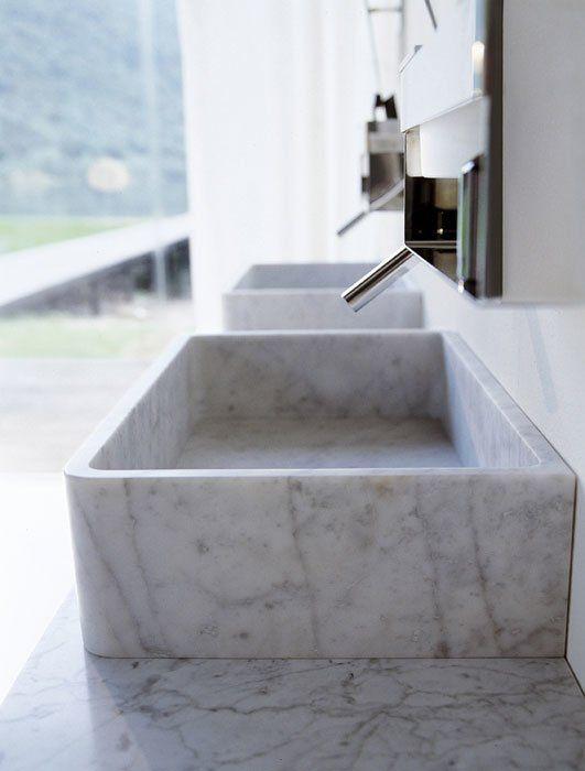 Lavabo Carrara