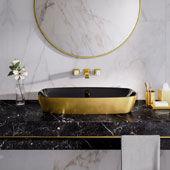 Lavabo Gold&Silver